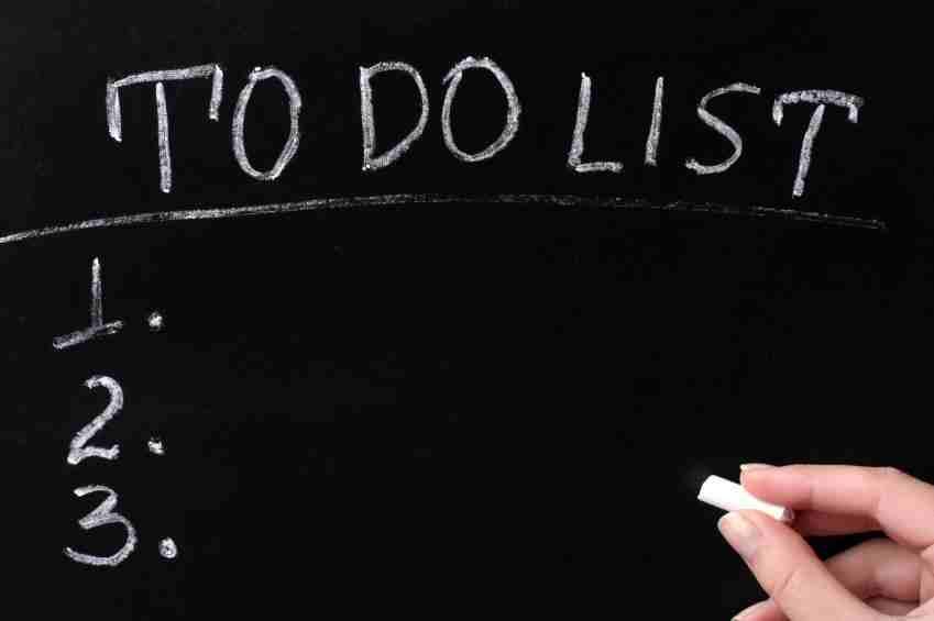 قائمة بما تتقنه و ما تريد أن تتقنه